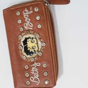 BETTY BOOP WALLET SOO MANY COMPARTMENTS